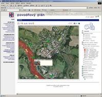 Ukázka - Povodňový plán LK, mapový podklad ortofotomapa