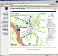 Ukázka - Povodňový plán LK, mapový podklad ZABAGED