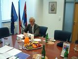 Zápis norského velvyslance Petera Raedera do Pamětní knihy Libereckého kraje