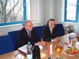maršálek Dolnoslezského vojvodství Henryk Golebiewski a hejtman Pavel Pavlík při společném jednání