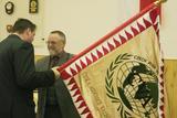 Předání Čestného praporu Libereckého kraje Sdružení veteránů České republiky
